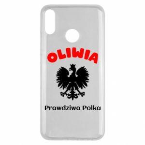 Phone case for Samsung A7 2018 Olivia is a real Pole - PrintSalon