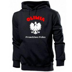Bluza z kapturem męska Oliwia jest prawdziwą Polką