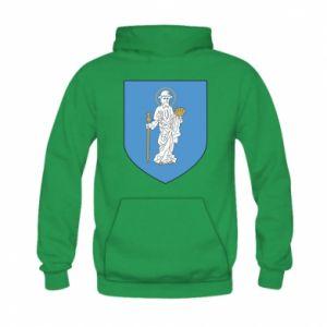 Bluza z kapturem dziecięca Olsztyn herb