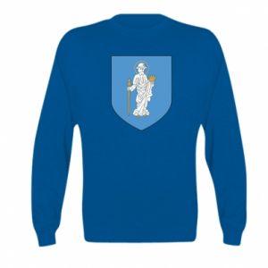 Kid's sweatshirt Olsztyn coat of arms