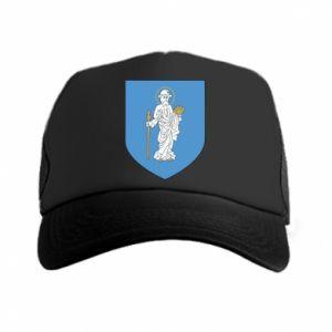 Trucker hat Olsztyn coat of arms
