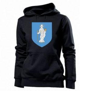 Women's hoodies Olsztyn coat of arms