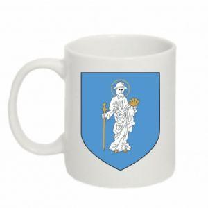 Mug 330ml Olsztyn coat of arms