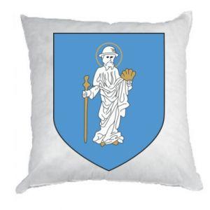 Pillow Olsztyn coat of arms