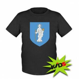Kids T-shirt Olsztyn coat of arms