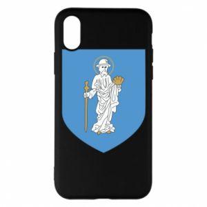 iPhone X/Xs Case Olsztyn coat of arms