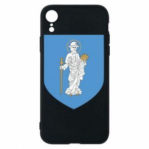 Phone case for iPhone XR Olsztyn coat of arms