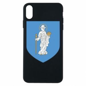 Phone case for iPhone Xs Max Olsztyn coat of arms