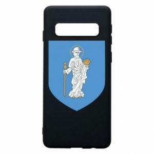 Phone case for Samsung S10 Olsztyn coat of arms