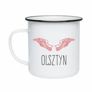 Kubek emaliowane Olsztyn