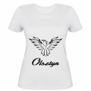 Women's t-shirt Olsztyn openwork eagle