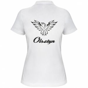 Damska koszulka polo Olsztyński ażurowy orzeł
