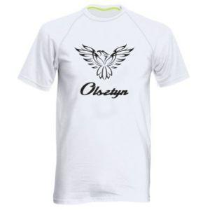 Męska koszulka sportowa Olsztyński ażurowy orzeł