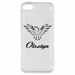 Etui na iPhone 5/5S/SE Olsztyński ażurowy orzeł