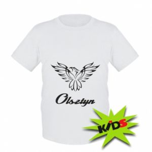 Kids T-shirt Olsztyn openwork eagle