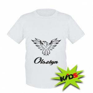 Kids T-shirt Olsztyn openwork eagle