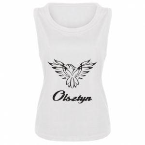 Damska koszulka bez rękawów Olsztyński ażurowy orzeł
