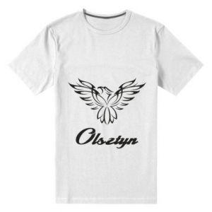 Męska premium koszulka Olsztyński ażurowy orzeł