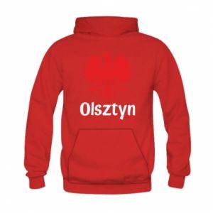 Bluza z kapturem dziecięca Olsztyński orzeł heraldyczny