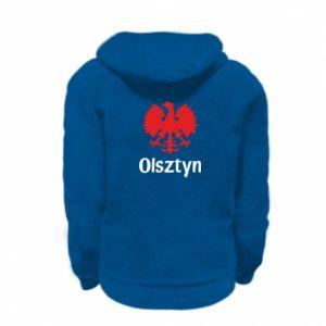 Bluza na zamek dziecięca Olsztyński orzeł heraldyczny