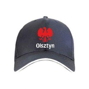 Czapka Olsztyński orzeł heraldyczny