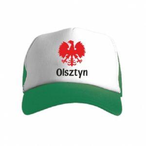Czapka trucker dziecięca Olsztyński orzeł heraldyczny