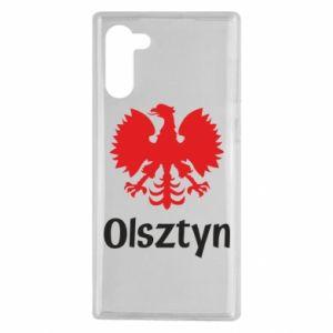Etui na Samsung Note 10 Olsztyński orzeł heraldyczny