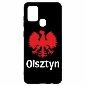 Etui na Samsung A21s Olsztyński orzeł heraldyczny