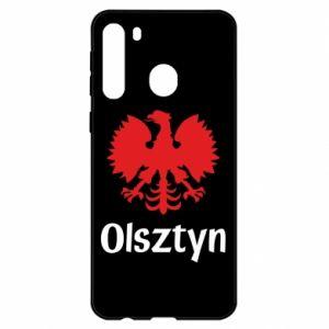 Etui na Samsung A21 Olsztyński orzeł heraldyczny