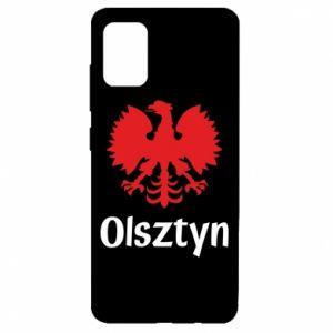 Etui na Samsung A51 Olsztyński orzeł heraldyczny