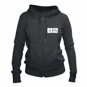Women's zip up hoodies Omg