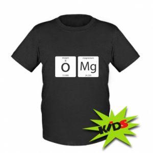 Kids T-shirt Omg