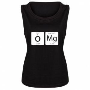 Damska koszulka bez rękawów Omg