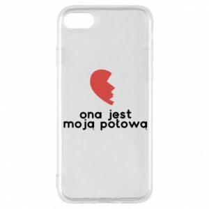 Phone case for iPhone 8 She is my half