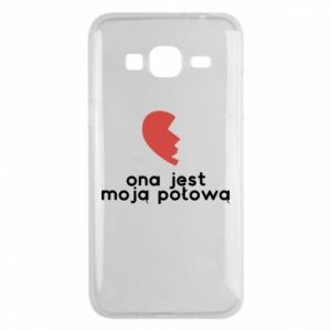 Phone case for Samsung J3 2016 She is my half