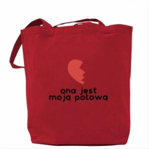 Bag She is my half
