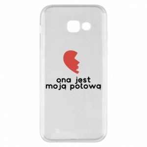 Phone case for Samsung A5 2017 She is my half
