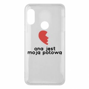 Phone case for Mi A2 Lite She is my half