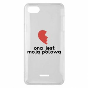 Phone case for Xiaomi Redmi 6A She is my half