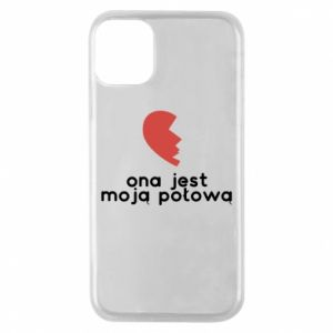 Phone case for iPhone 11 Pro She is my half