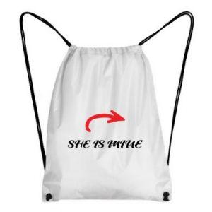 Backpack-bag She is mine