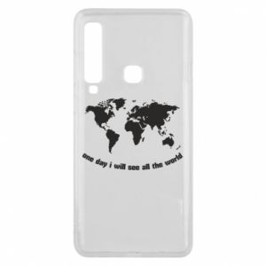 Phone case for Samsung A9 2018 One day i will see all the world