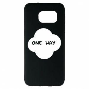 Samsung S7 EDGE Case One Way