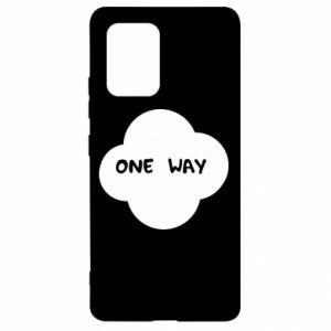 Samsung S10 Lite Case One Way