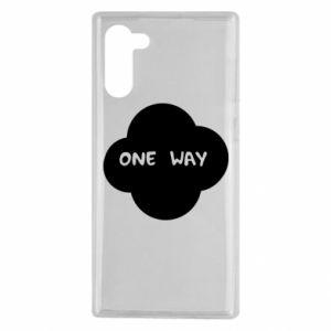 Samsung Note 10 Case One Way