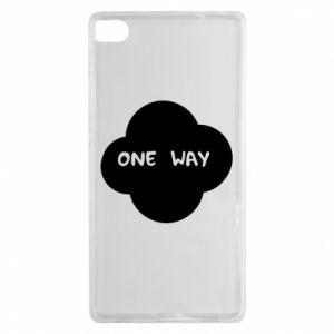 Huawei P8 Case One Way