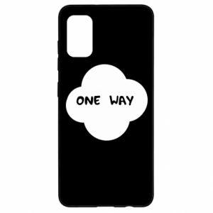 Samsung A41 Case One Way