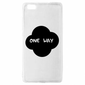 Huawei P8 Lite Case One Way