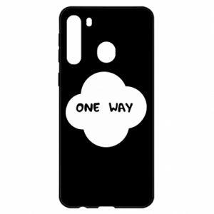 Samsung A21 Case One Way