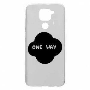 Xiaomi Redmi Note 9 / Redmi 10X case % print% One Way